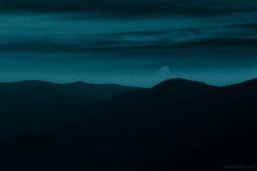The Mountains in crepuscule