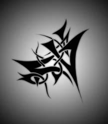 Another Tribal Tat by darkmetalhead