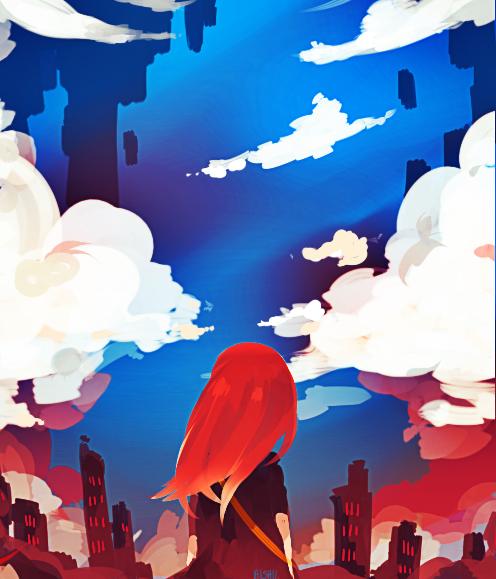 Sky by OishiiAishii