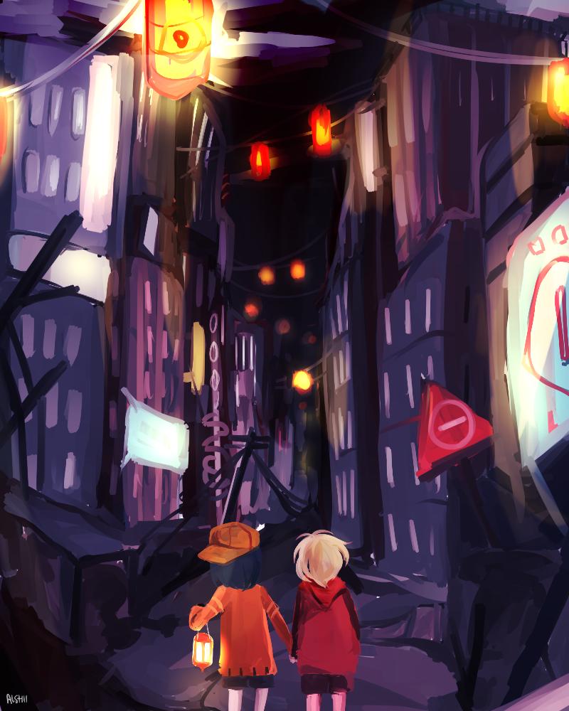 Don't play in the dark by OishiiAishii