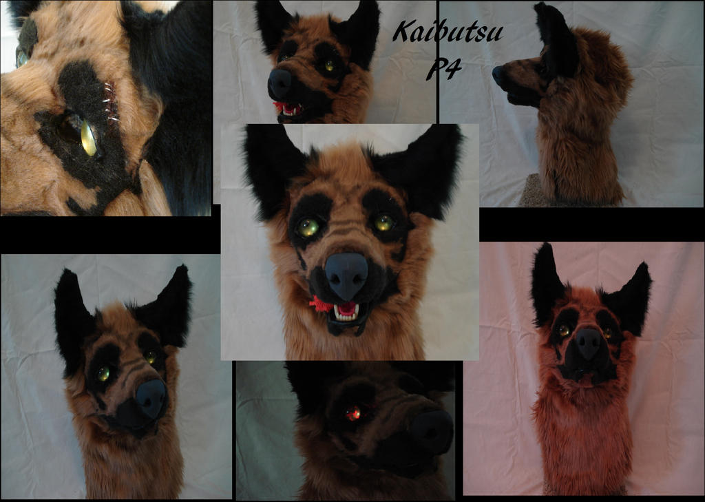 Kaibutsu head Version 2 by CrazyShibaLady