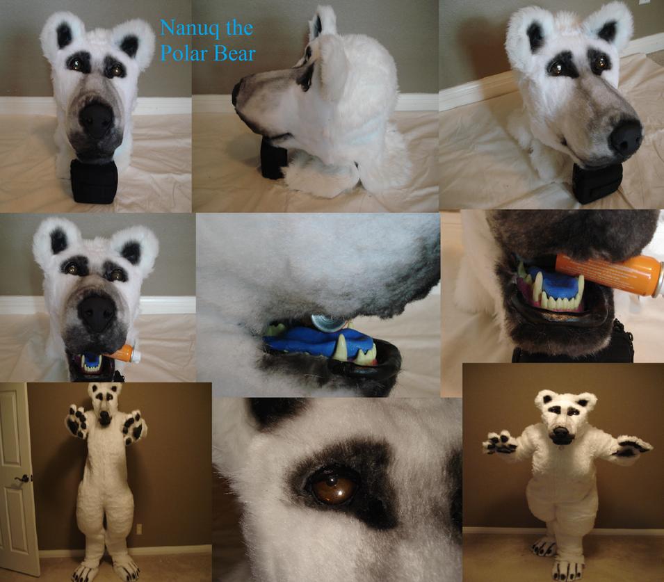 Nanuq the Polar Bear by CrazyShibaLady