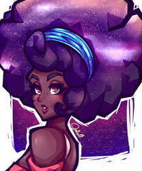 heaven in her hair by juurikun