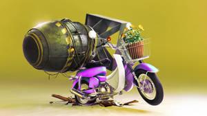 Funny bike by AHSajid1
