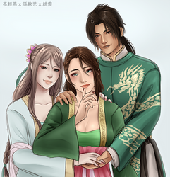 trio by kurizeria