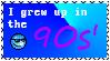 90s' Stamp by YukiSenmatsu