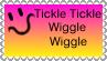 Tickle Tickle Wiggle Wiggle Stamp