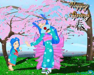 Spring 19' by YukiSenmatsu