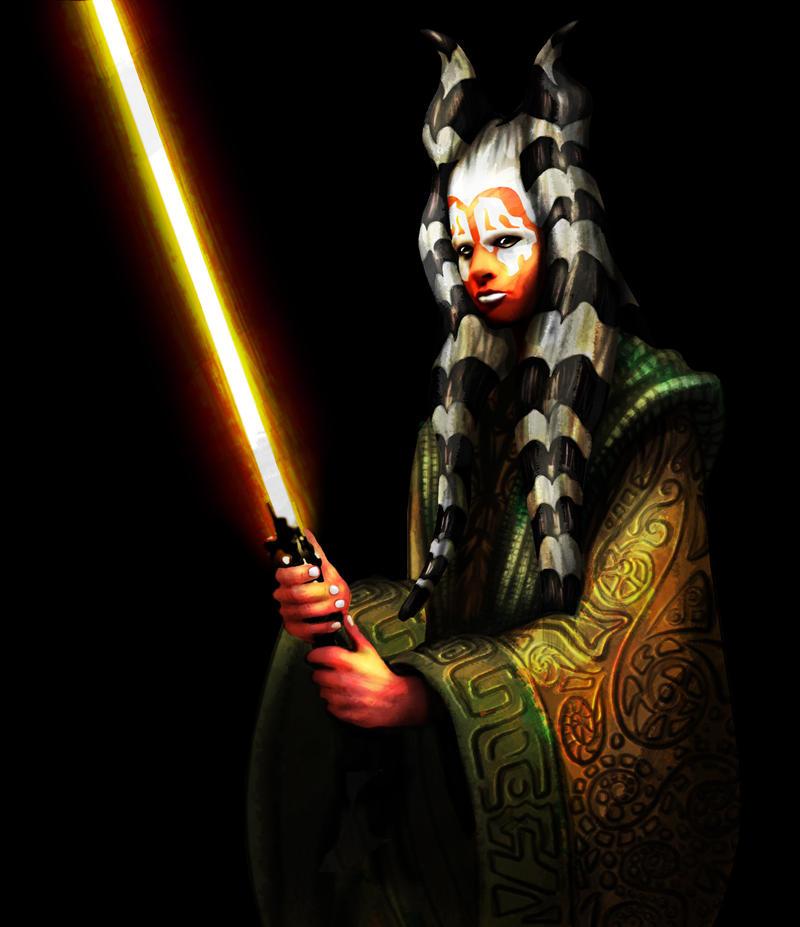 Jedi Wallpaper: Me As A Jedi Togruta By Skypher On DeviantArt