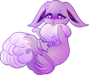 the floofiest (+ timelapse) by fllutter