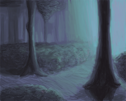 Speed Painting + Contrast test