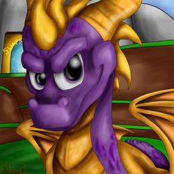 Spyro - Sunrise Springs by hideakithewolf