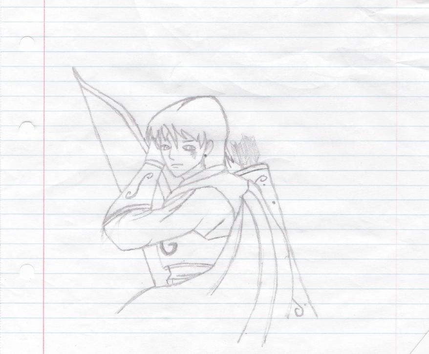 Archer girl (Manga style)