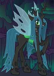 Queen Chrysalis by min-arts
