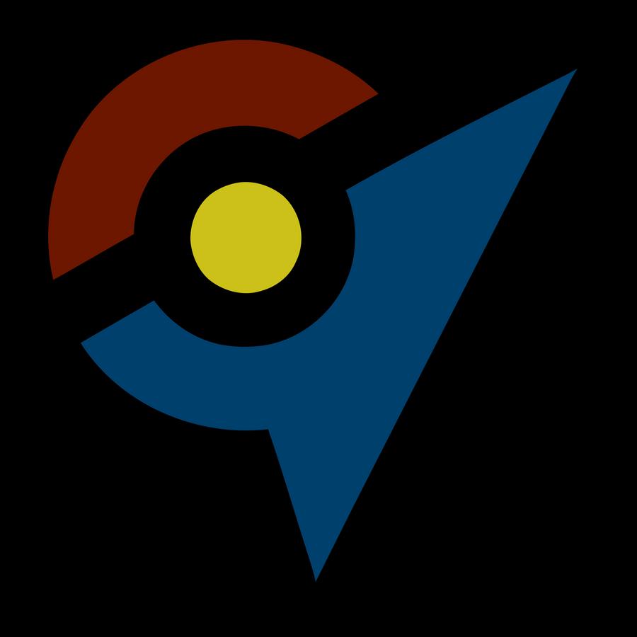 Pokemon GO - Three Team Gym Symbol Vector