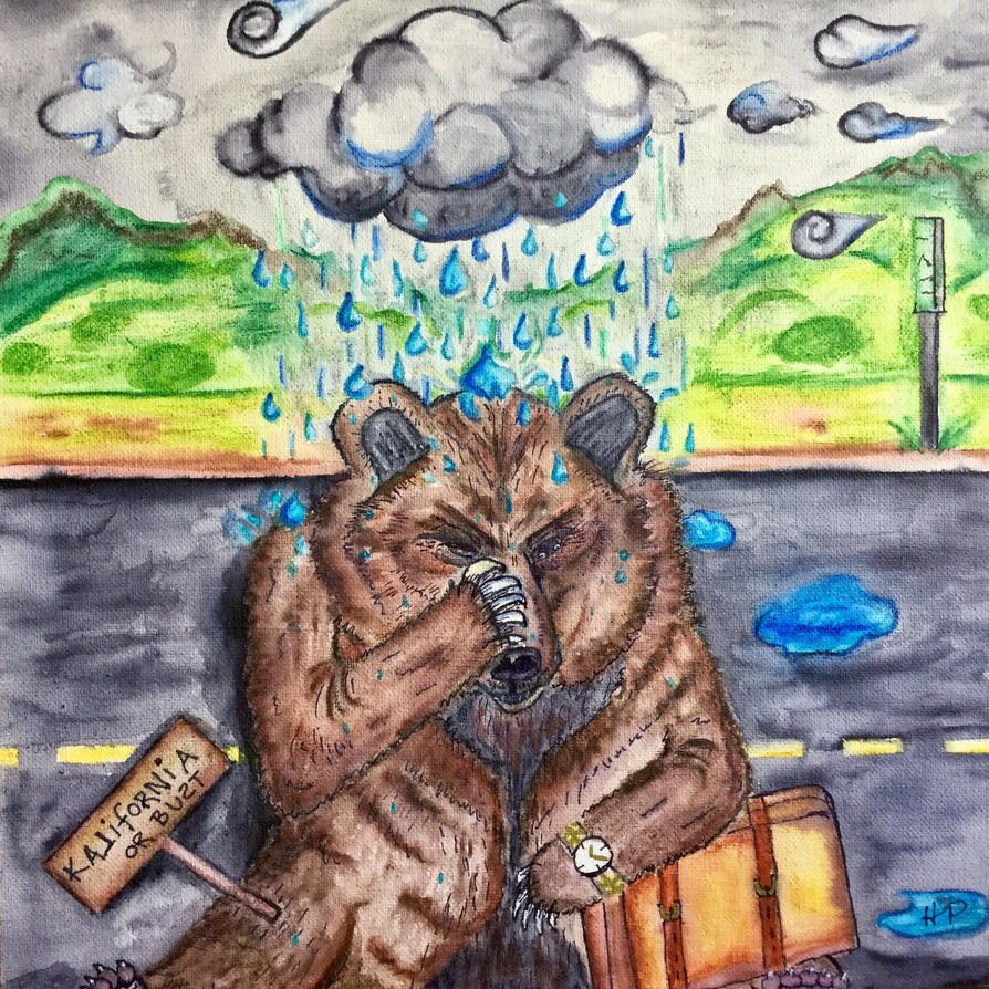 The California Drizzly Bear by Woogies2