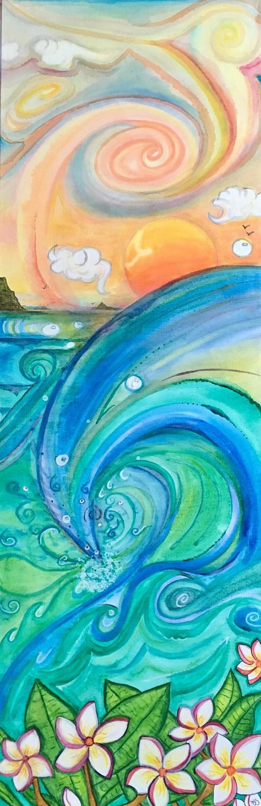 Plumeria Wave by Woogies2
