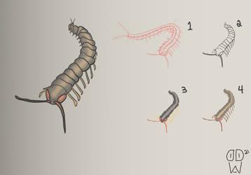 Sketch128 (centipede Thing)
