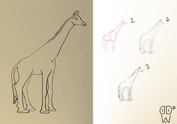 Sketch137 (giraffe)