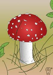 Sketch145 (fly Agaric Fairy Mushroom)