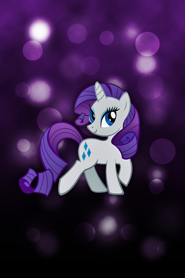 Rarity iPod/iPhone Wallpaper by Rubez2525