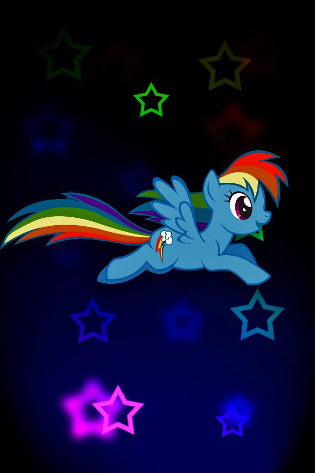 Rainbow Dash iPod/iPhone Wallpaper by Rubez2525