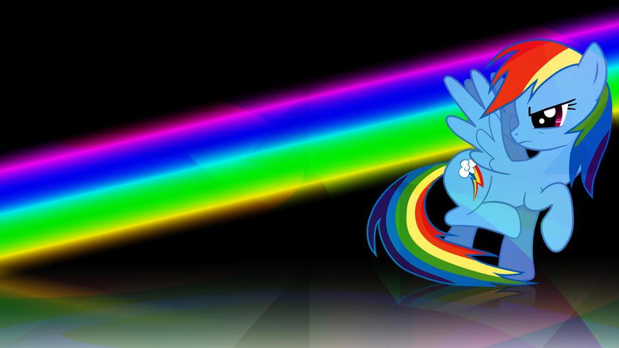 Rainbow Dash Rainbow Wallpaper 1080p by Rubez2525