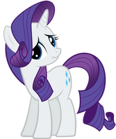 Rarity Has Something to Say by Rubez2525