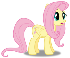 Confused Fluttershy by Rubez2525
