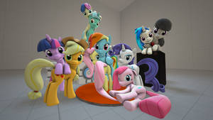 Pony Cuteness Poster [SFM]