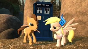 Doctor And Derpy's  Adventure #2