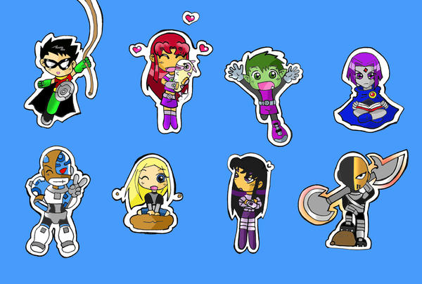 Great Chibi TeenTitan ...