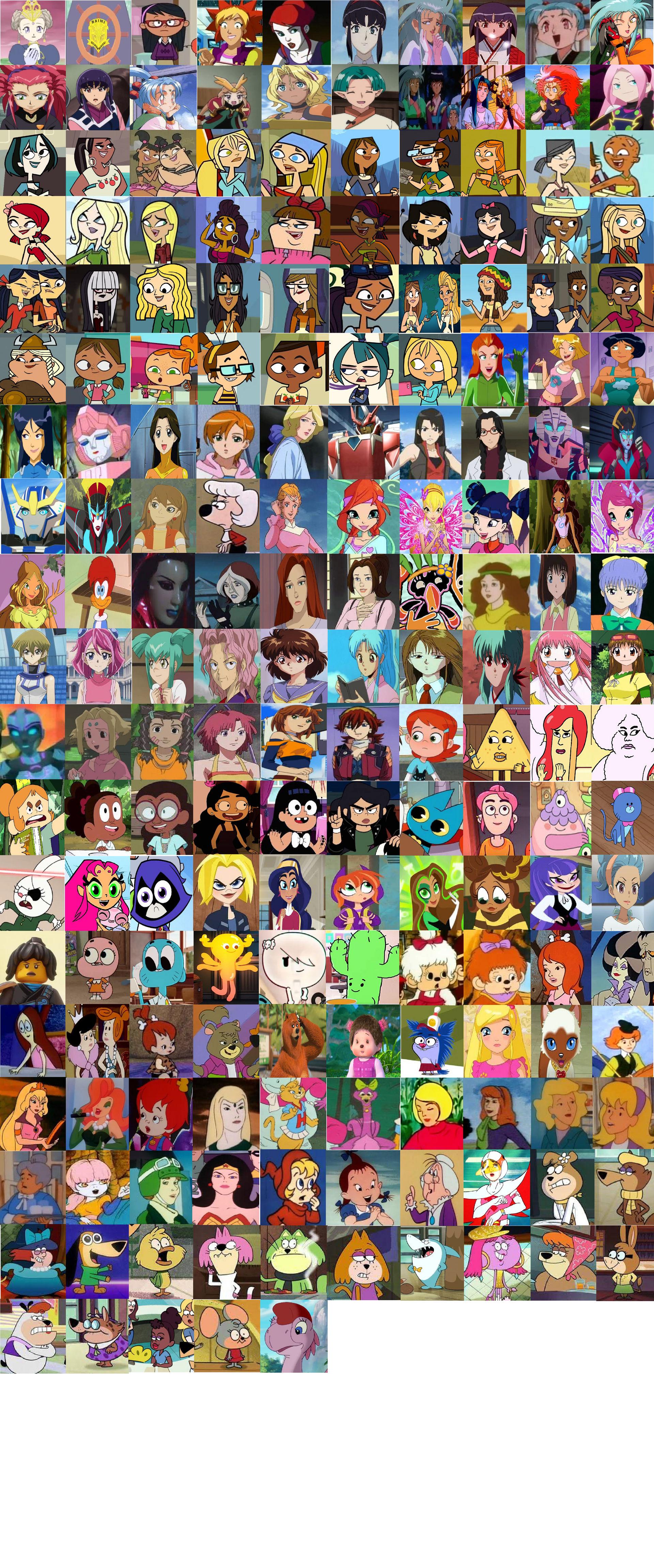 Cartoon Network Heroines 4