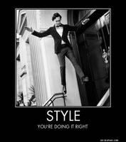 Tom Hiddleston Motivational Poster by TrailsOfBrokenHearts