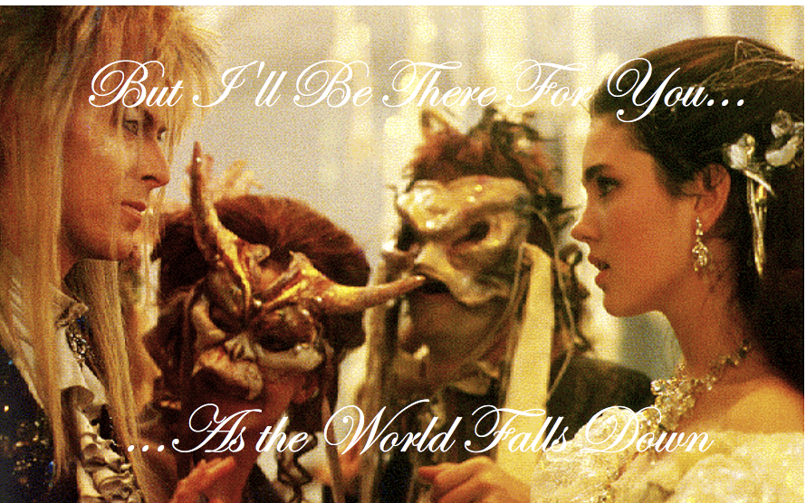 Labyrinth: As the World Falls Down (wallpaper) by ... Labyrinth Movie Wallpaper