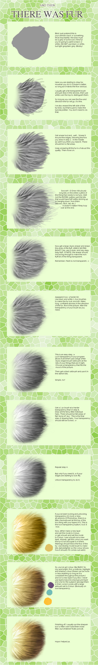 Fur tutorial by Snowpuddles