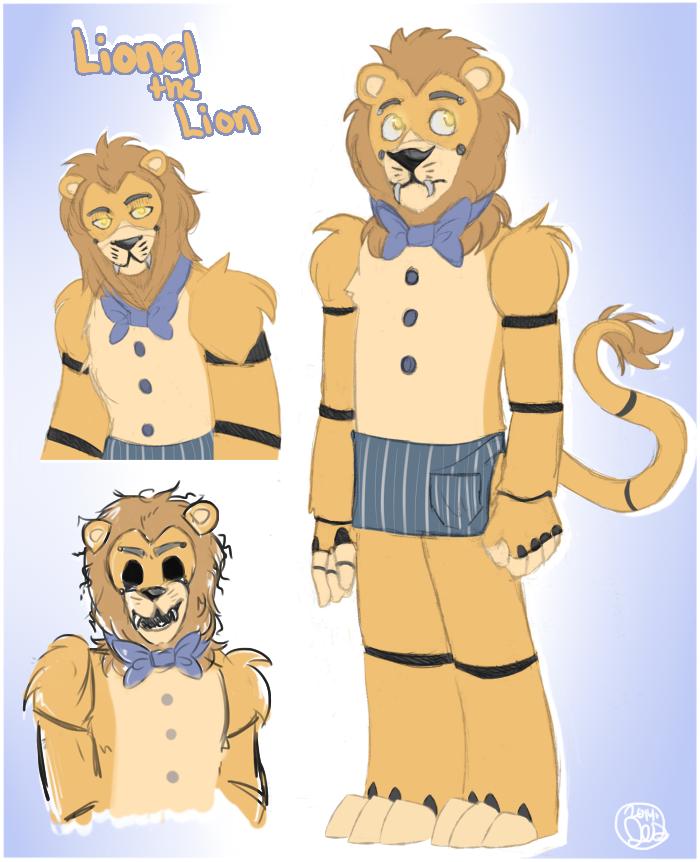 Fnaf lionel the lion by heicanstars on deviantart