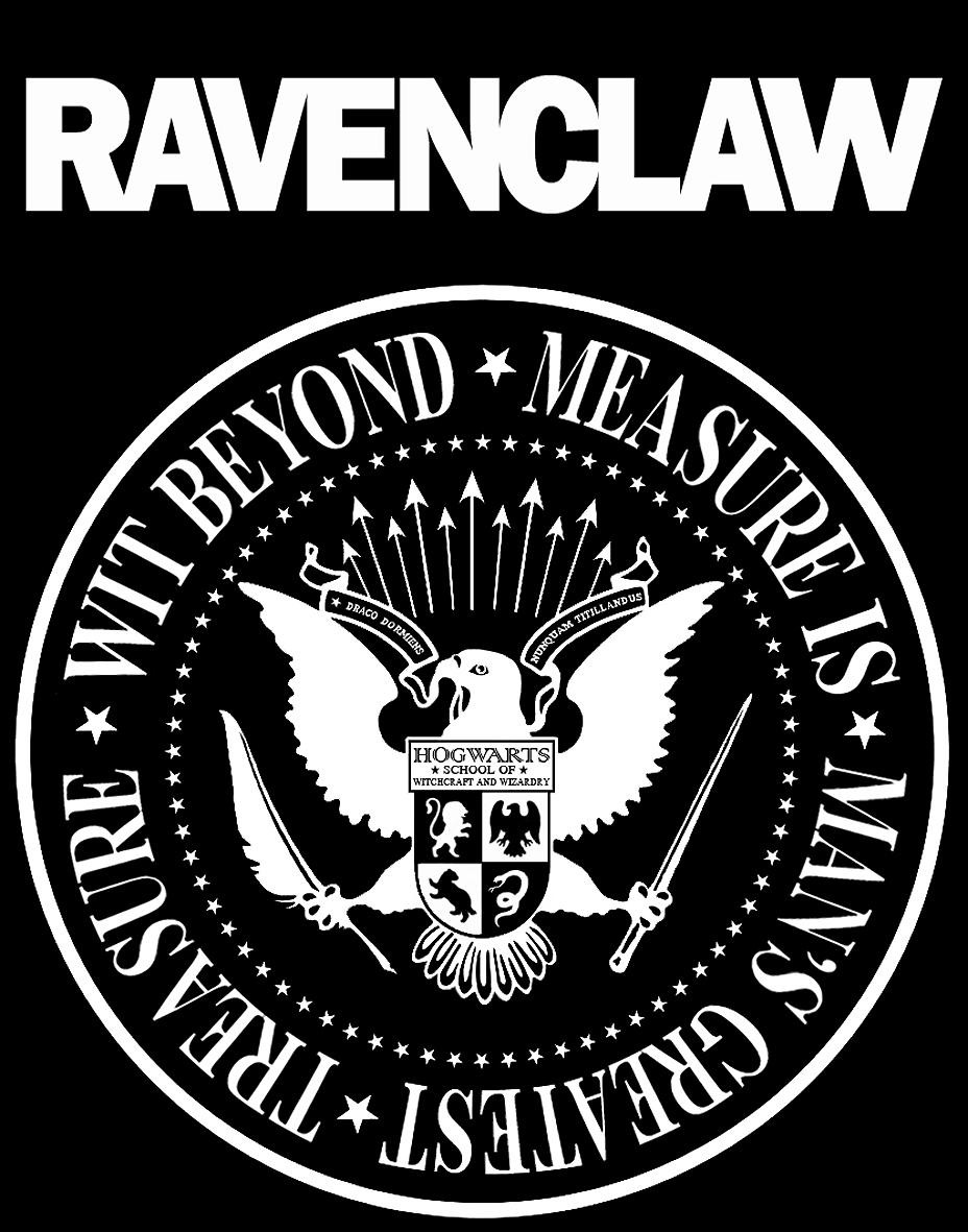 T-shirt: Ravenclaw by MoriNoYosei