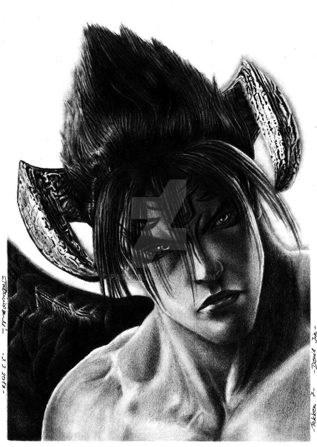 Tekken 7 Devil Jin By Patrisb On Deviantart