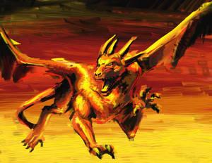 Dragon Rage -- Cael