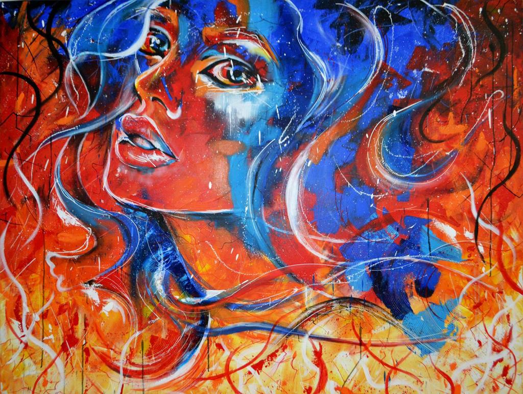 Girl on Fire by NeverLookBackk