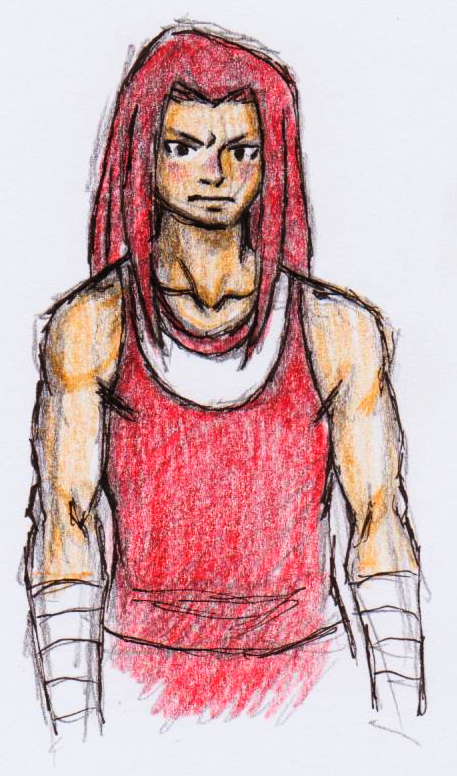 Knuckles the Human by dawwe0