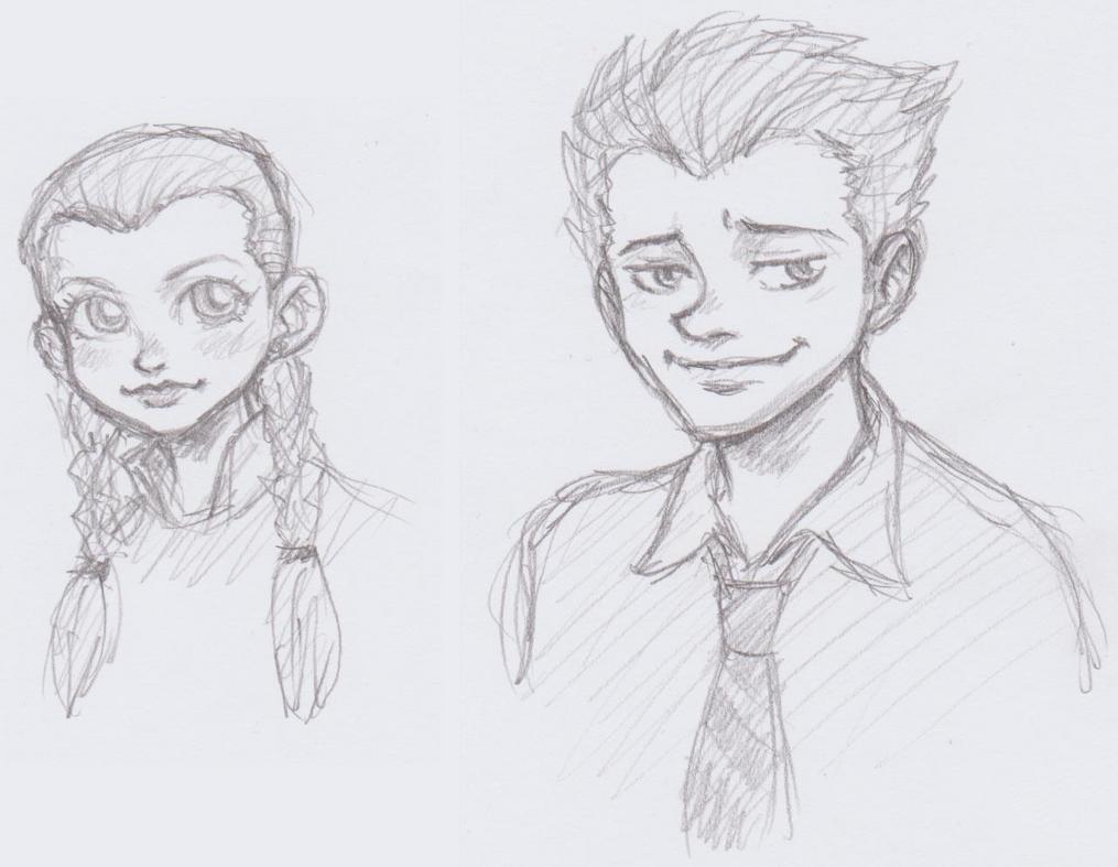 Zootopia: Judy and Nick humanized by dawwe0