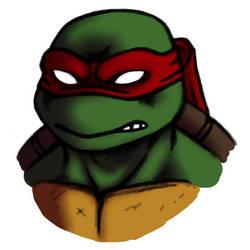 Raphael, Teenage Mutant Ninja Turtle.