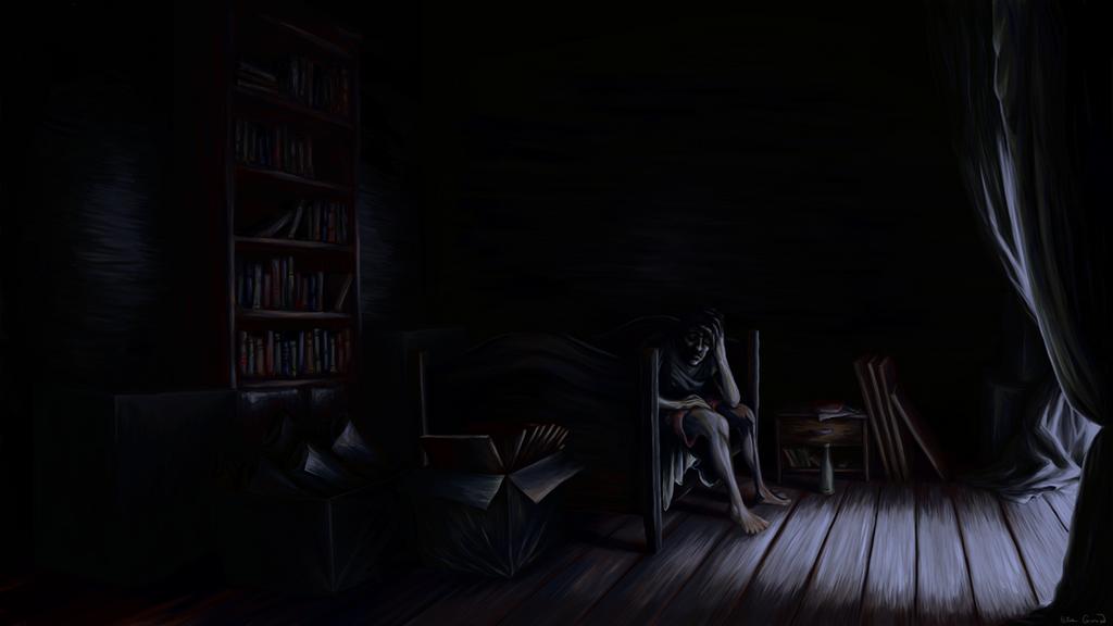 Bedroom by ItsDeri