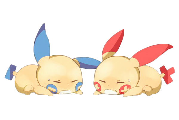Plusle And Minun Wallpaper MINUN AND PLUSLE RENDE...