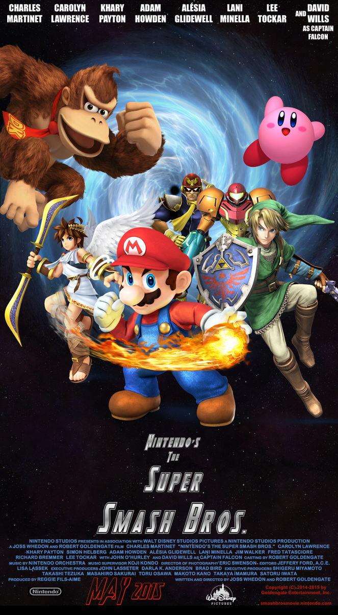 Nintendo's The Super Smash Bros. Poster (Disney) by Colonel-Knight-Rider