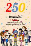 Colonel Knight Rider's 250th Deviation Celebration