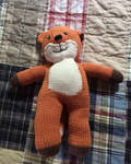 Crochet Fox Toy for My Future First Child