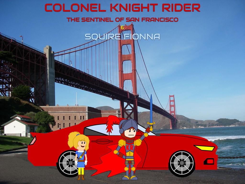 Colonel-Knight-Rider (Sir Robert Goldengate)   DeviantArt
